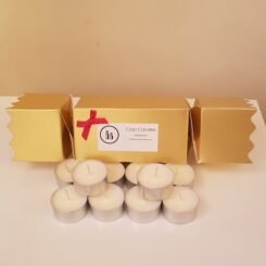 Ciao Candles christmas cracker tealights