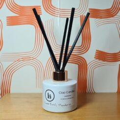 Reed diffuser gift set lime basil mandarin